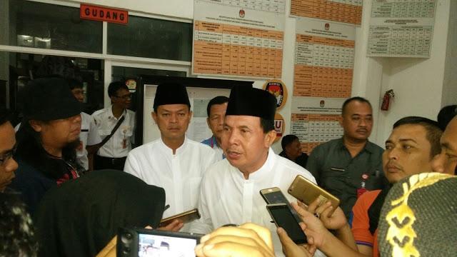 KPU Prabumulih Nyatakan Berkas Pencalonan Ridho Fikri Sudah Lengkap