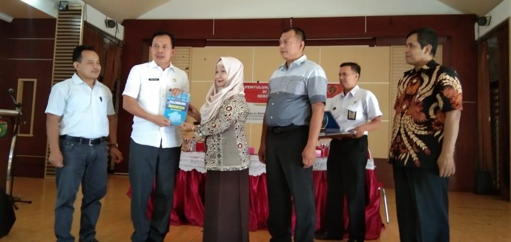 Walikota Prabumulih Resmi Membuka Acara Pelatihan Bahasa Bagi Jurnalistik Prabumulih